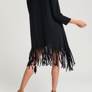 Twirl Me Around Fringe Dress